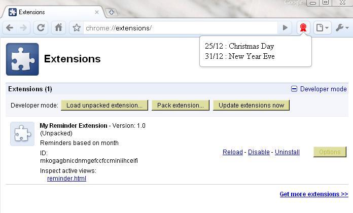 Chrome Extension | Google App Engine Java Experiments